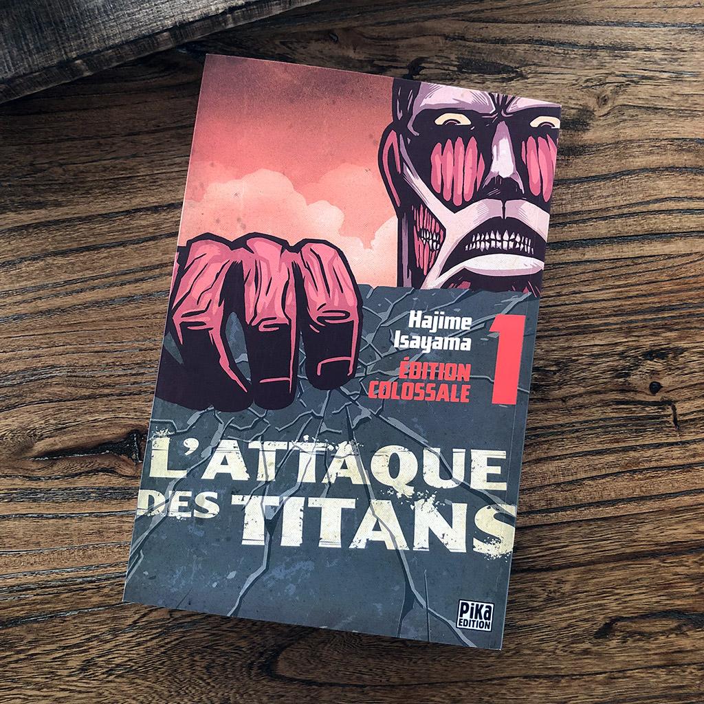 L'attaque des titans - tome 1