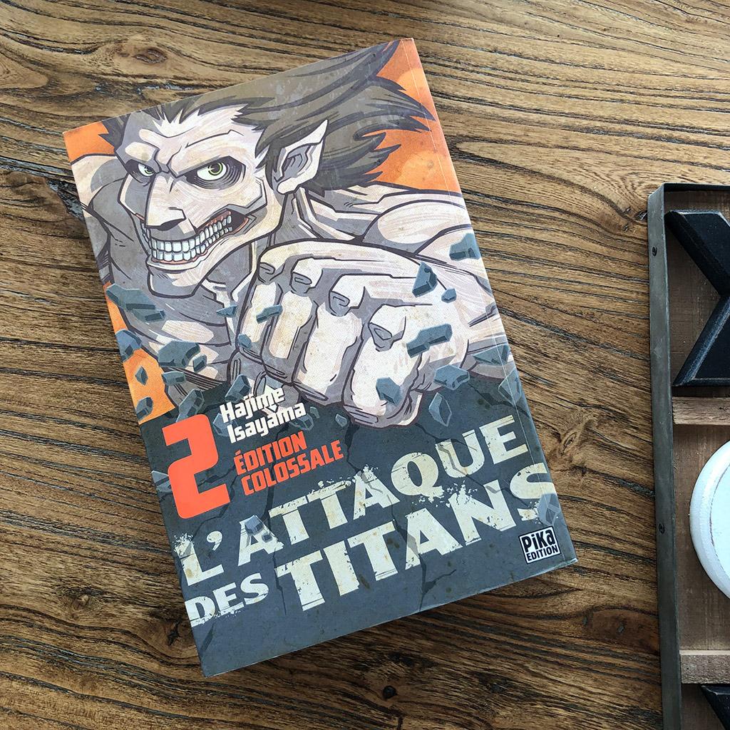L'attaque des Titans - tome 2