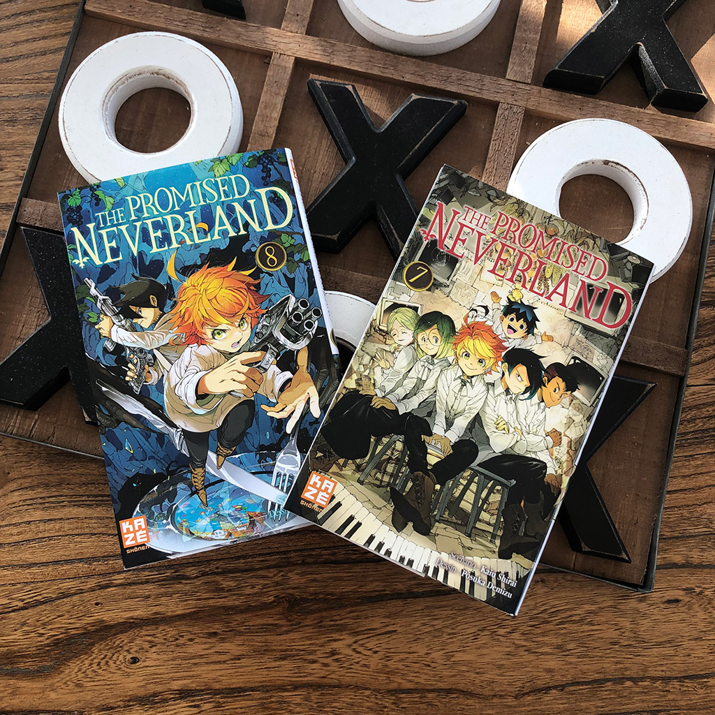 The promised neverland - tome 7 et 8
