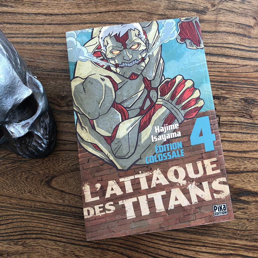 L'attaque des titans - Edition colossale - tome 4