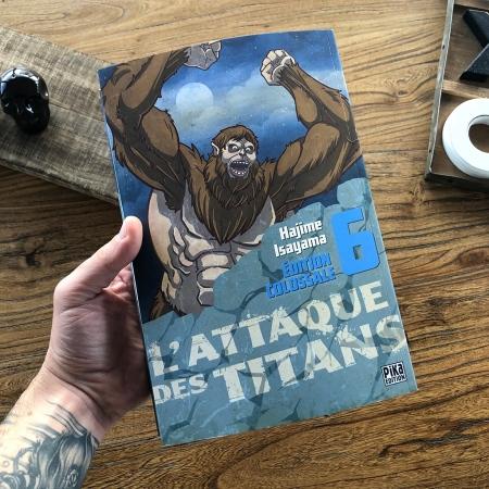 L'attaque des Titans - tome 6