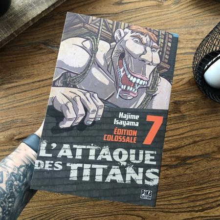 L'attaque des Titans - Edition Colossale - tome 7