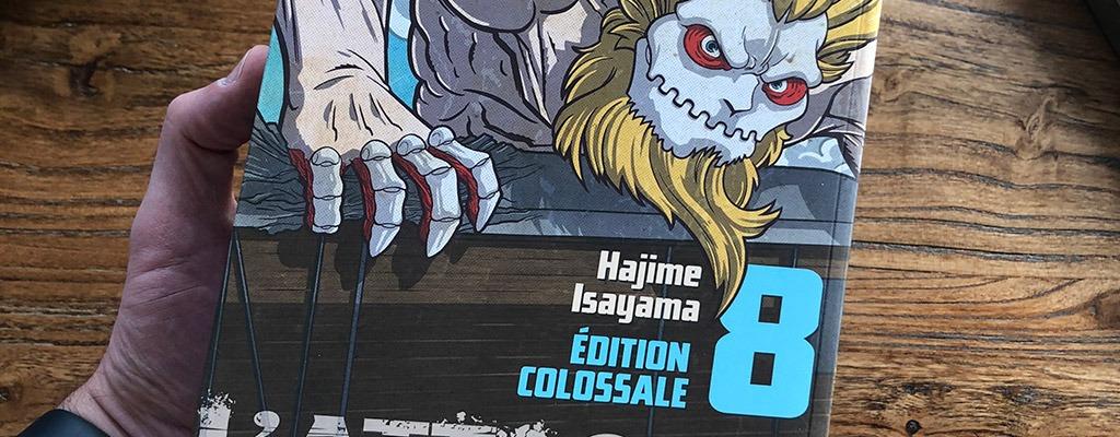 L'attaque des titans - Edition colossale - tome 8