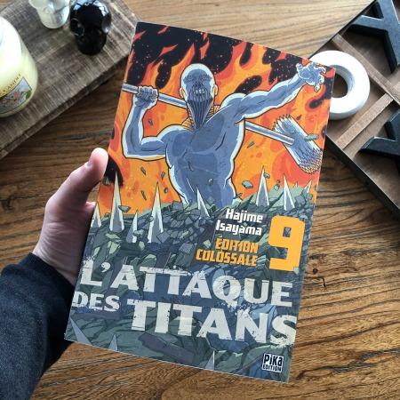 L'attaque des titans - édition colossale - tome 9